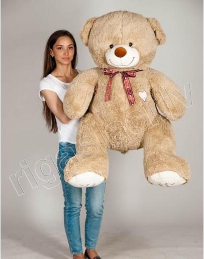 """Медведь """"I love you"""" 145 см Светло-коричневый"""