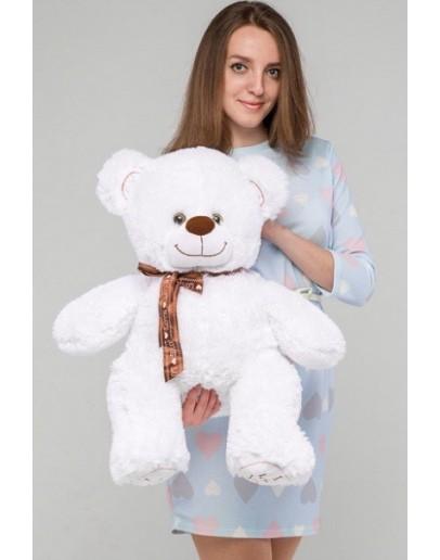 "Медведь ""I love you"" 85 см Снежно-белый"