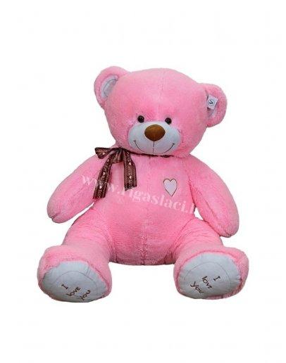 "Мишка ""I love you"" 150 cm Розовый"