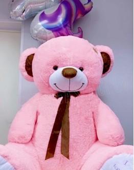 Розовый мишка «I Love you» 180 см