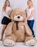"""Медведь """"I love you"""" 230 см Светло-коричневый"""